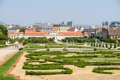Stock Photo of Belvedere Palace In Vienna