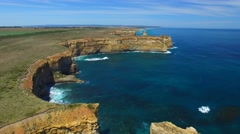 Great Ocean Road Coast, Australia Stock Footage