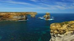 Great Ocean Road Coast, Australia Stock Footage