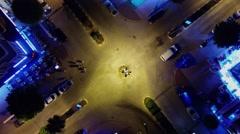 Stock Video Footage of Transport traffic on crossroad of st. Barbaros and Mehmet Cakir Cad