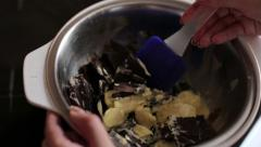 Chocolate Pastry - stock footage