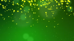 Green Christmas Background - stock footage