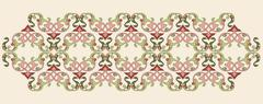 Antique Ottoman borders and frames series fifty - stock illustration