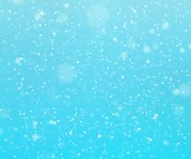 Snow abstract background Stock Illustration
