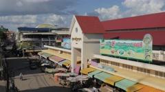 Psar Kratie market,Kratie,Cambodia Stock Footage