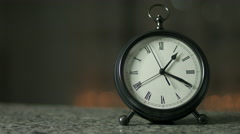 Twelve Hour Clock Timelapse Stock Footage