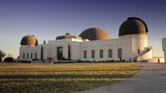 Observatory Planetarium - stock footage