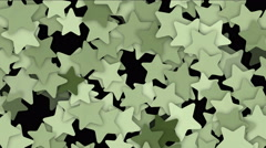 4k five-pointed star gear flower,zipper chain geometry starfish technology. Stock Footage
