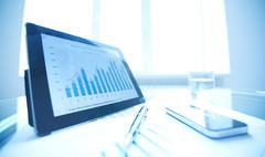 Financial data Stock Photos