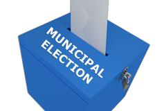 Municipal Election concept - stock illustration