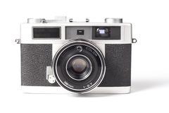 Silver Camera - stock photo