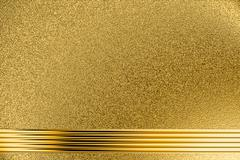 Stock Illustration of Golden grungy background
