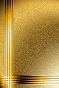 Stock Illustration of Background on the basis of the golden granulated surface