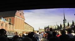 Copenhagen tour Stock Footage