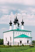 Stock Photo of Church of the Entry into Jerusalem in Suzdal, Russia