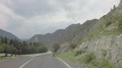 Mountain river Chuya along Chuysky Trakt Stock Footage