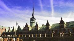 The Stock Exchange in Copenhagen Stock Footage
