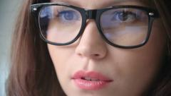 Beautiful Business Lady Stock Footage
