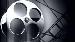 film reel background V2 - stock footage