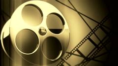 film reel background V4 - stock footage