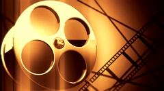 film reel background V7 - stock footage