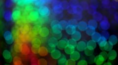 abstract background of light and color rainbow - stock photo
