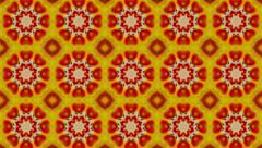 Colourful Kaleidoscope Effect Stock Footage