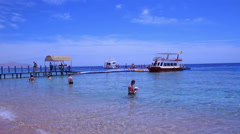 Egypt . Sharm El Sheikh, Red Sea. April 2014. Stock Footage