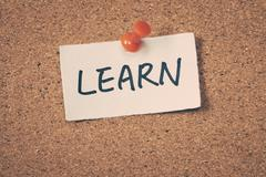 Stock Photo of learn
