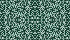 Seamless Abstract Tribal Pattern. Hand Drawn Ethnic Texture. Vector Illustrat - stock illustration