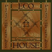 Stock Illustration of ECO HOUSE