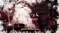 Merry Christmas Slideshow Kuvapankki erikoistehosteet
