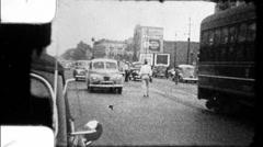 Chicago Street Scene WW2 Depression Era 1930s 1940s Vintage Film Home Movie 8891 - stock footage