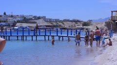 Sharm El Sheikh, Red Sea. Egypt . April 2014. Stock Footage