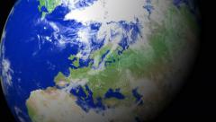 4K Earth Zoom: Helsinki - Finland Arkistovideo