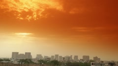 Delhi NCR Color Sky Timelapse Stock Footage