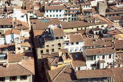 Stock Photo of Florence cityscape, Italy, travel destination