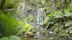 Dolly shot of the Hopetoun Falls in Victoria, Australia Stock Footage