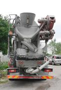 Concrete Mixer Truck Stock Photos
