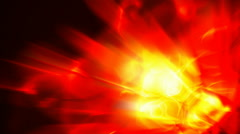 Abstract flame motion background Stock Footage