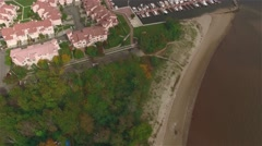 Aerial view of Staten Island. Stock Footage