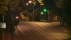 Speeding Fire Department Truck - stock footage