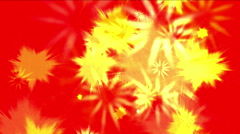 4k Abstract holiday fireworks particle smoke energy background,ink explosions. Stock Footage