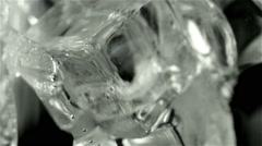 Pouring carbonated water - stock footage