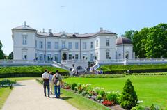 Amber Museum in the Botanical Park, Palanga, Lithuania - stock photo