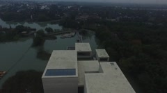 Aerials of water town of China Stock Footage