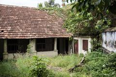 Abandoned Residence in Kerala - stock photo