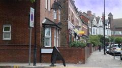 London Suburbs Willesden Green Brent Arkistovideo