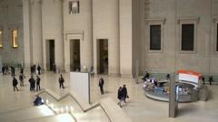 The British Museum, London Stock Footage
