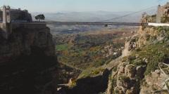 Stock Video Footage of View Of Constantine bridge